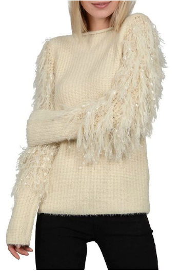The MJ Elle_Knit Sweaters Under $100_Molly Bracken Plush Texture Sweater