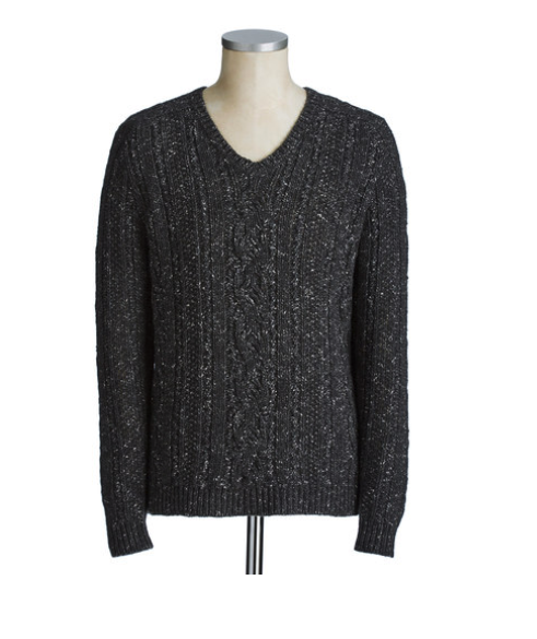 The MJ Elle_Holiday Gift Guide Family_John Varvatos Star USA Cable Knit Sweater