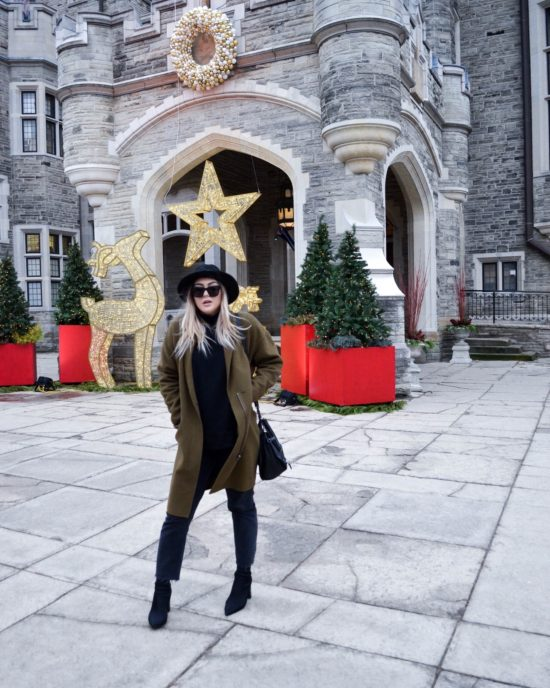 The MJ Elle_Christmas in Toronto_Casa Loma