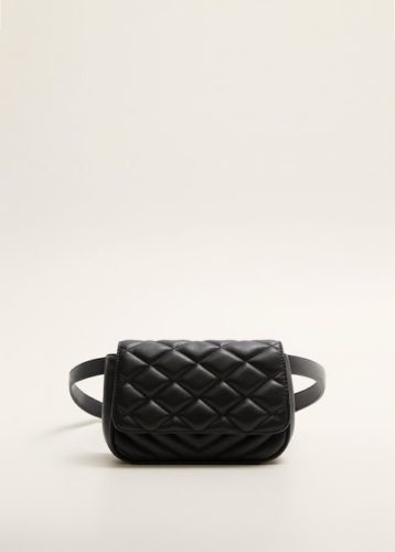 The MJ Elle_Belt Bags_Mango Quilted Belt Bag