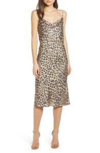 The MJ Elle_Leopard Print Trend_Bardot Leopard Cocktail Slipdress Nordstrom
