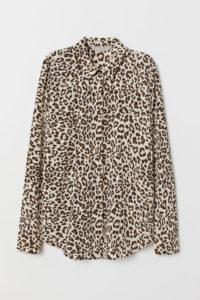 The MJ Elle_Leopard Print Trend_H&M Leopard Blouse