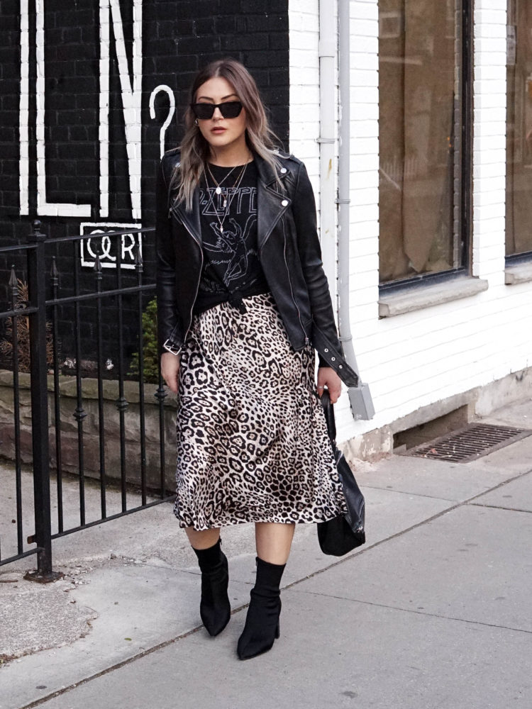 Shop My Look: Leather Jackets
