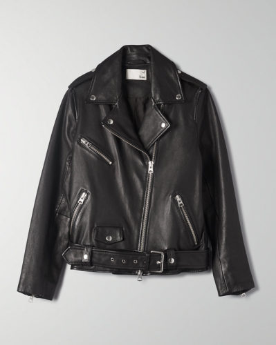 The MJ Elle_Leather Jackets_Wilfred Lennon Biker Jacket
