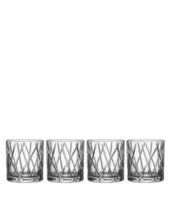 The M.J. Elle_Holiday Gift Guide 2019_William Ashley Orrefores City Old Fashioned Glasses