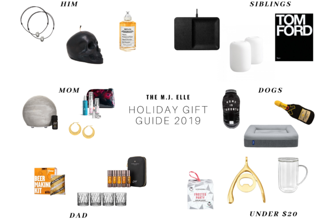 The MJ Elle_Holiday Gift Guide 2019_Cover