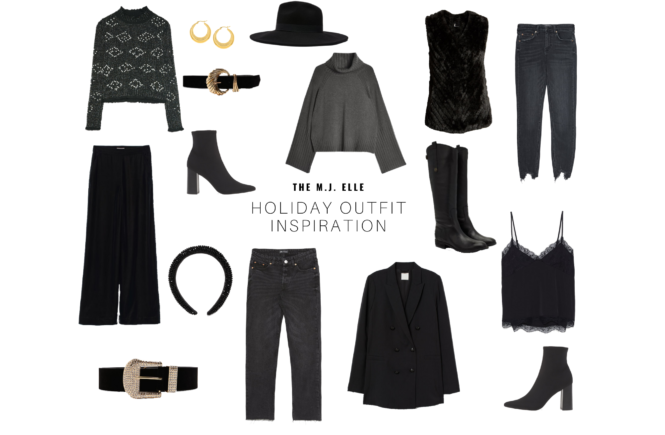 The M.J. Elle_Holiday Outfit Inspiration_Cover