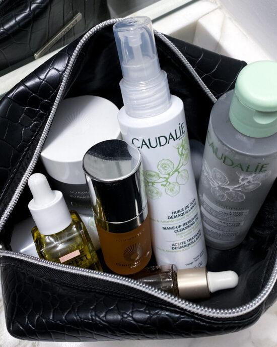 The MJ Elle_Skin Care Steps_Skincare Bag